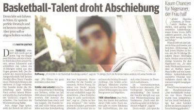 Kurier-30112011-Basketball-Talent-droht-Abschiebung-komppix